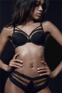 Zwart sexy lingerie