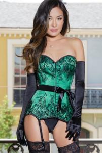 Groene sexy lingerie