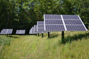 zonne energie panelen sunleaves